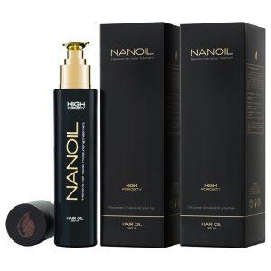 olie voor alle soorten haar Nanoil